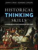 Historical Thinking Skills Book