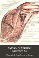 Manual of practical anatomy  v 1