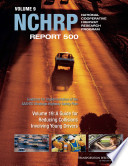 Guidance for Implementation of the AASHTO Strategic Highway Safety Plan Book