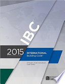 2015 International Building Code ICC IBC