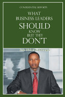 What Business Leaders Should Know But They Don't Pdf/ePub eBook