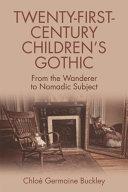 Pdf Twenty-First-Century Children's Gothic Telecharger