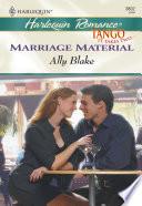 Marriage Material  Mills   Boon Cherish