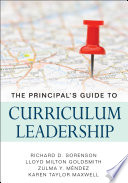 The Principal   s Guide to Curriculum Leadership Book