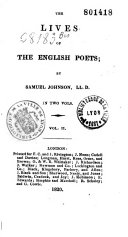 Pdf The Lives of the English Poets