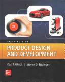 Product Design and Development Book
