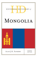Pdf Historical Dictionary of Mongolia