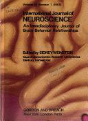 International Journal of Neuroscience Book