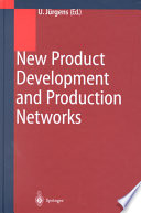 New Product Development And Production Networks Book PDF