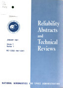 Reliability Abstracts and Technical Reviews