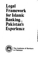 Legal Framework For Islamic Banking Pakistan S Experience