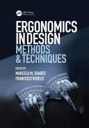 Ergonomics in Design: Methods and Techniques - Seite ii