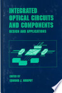 Integrated Optical Circuits And Components Book PDF