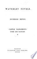 Waverley Novels  The fair maid of Perth  1860