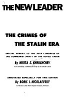 The Crimes Of The Stalin Era