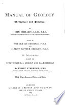 Manual Of Geology Theoretical And Practical