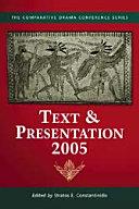 Pdf Text & Presentation, 2005 Telecharger