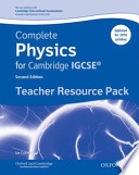 Complete Science for Cambridge IGCSE ®: Complete Physics for Cambridge IGCSE ® Teacher Resource Pack (Third Edition)