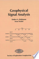Geophysical Signal Analysis