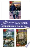 Harlequin Love Inspired Suspense December 2016 Box Set 2 Of 2