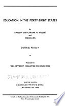 Education in the Forty-eight States