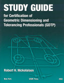 Study Guide for Certification of Geometric Dimensioning and ...