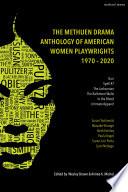 Methuen Drama Anthology of American Women Playwrights  1970   2020