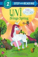 Uni the Unicorn Brings Spring