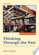 Thinking Through the Past Book PDF