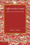 Pdf Light on the Gospel from an Ancient Poet