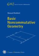 Basic Noncommutative Geometry