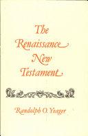 The Renaissance New Testament Pdf/ePub eBook