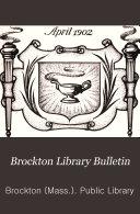 Brockton Library Bulletin