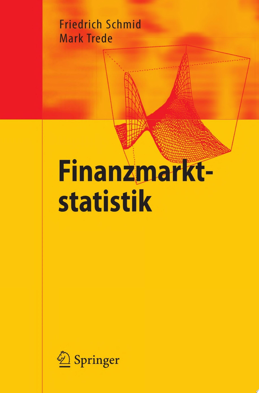Finanzmarktstatistik