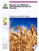 Report Of A Network Coordinating Group On Cereals Book PDF