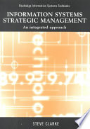 Information Systems Strategic Management Book PDF