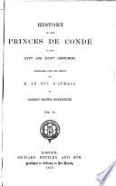 Louis de Bourbon  cont   Henri de Bourbon  1569 1588   Henri de Bourbon   1588 1610  Book PDF