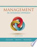 Management: An Integrated Approach