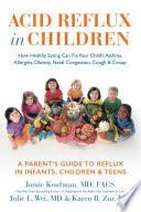Acid Reflux In Children PDF