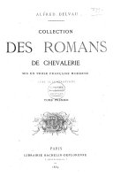 Collection des romans de chevalerie
