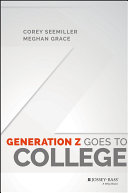 Pdf Generation Z Goes to College Telecharger