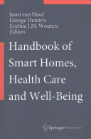 Handbook of Smart Homes, Health Care and Well-Being