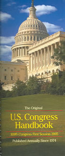 The Original U S  Congress Handbook