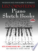 Leo Ornstein s Piano Sketch Books with Downloadable MP3s Book