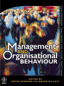 Cover of Management and Organisational Behaviour