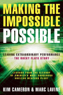 Making the Impossible Possible Book