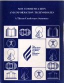 New Communication and Information Technologies and Their Application to Individual and Community Use