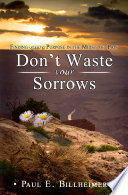 Don T Waste Your Sorrows Book PDF