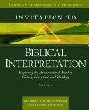 Invitation to Biblical Interpretation  2nd ed