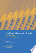 Health And Economic Growth Book PDF